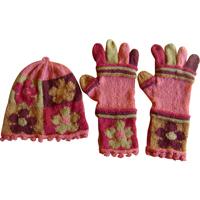 gobelinhue og handsker