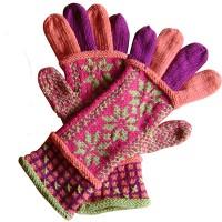 hue og handsker med stjerner udsnit 2