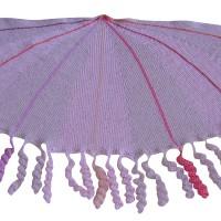 sjal med proptrækkerfrynser udsnit 1