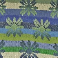 tørklæde med græske blomster udsnit