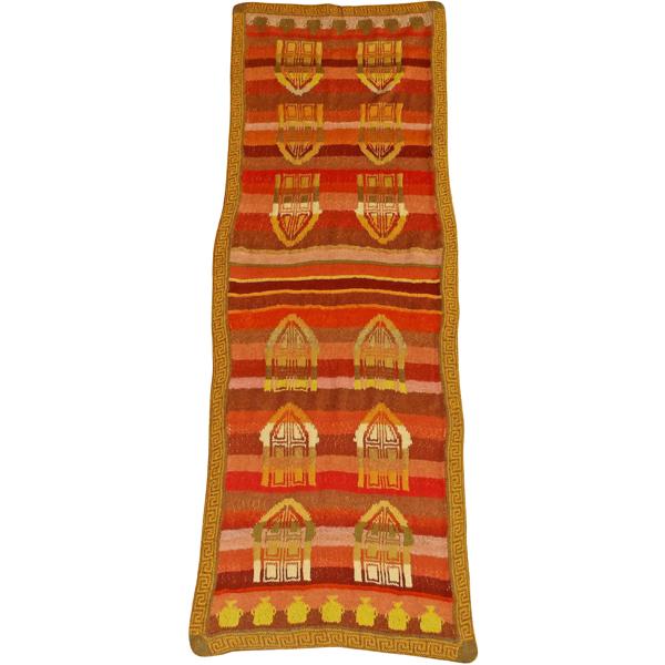 tørklæde med græske døre og krukker 600x600
