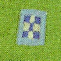 tørklæde med mange strikketeknikker udsnit