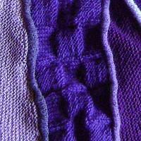 tørklæde med silkekiler udsnit