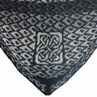 sjal med keltiske knuder udsnit wp